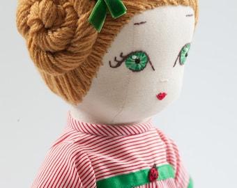 Danielle - Handmade Cloth Doll