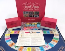 Trivial Pursuit The 1960's Board Game Master Edition Pieces Never Used 1990