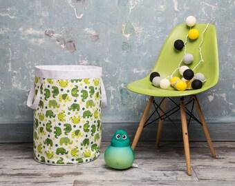 Basket for toys. Children Room basket.