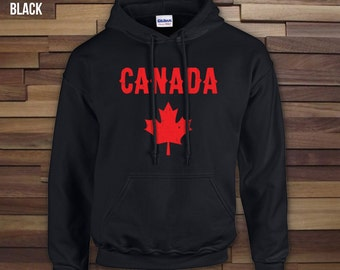 Canada Day adult unisex hoodie, crewneck, campfire shirt, canada day sweater, canadian hoodie, canada day apparel, canada day hood- CT-064