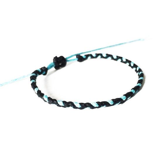 wax cord bracelet friendship bracelet braided bracelet
