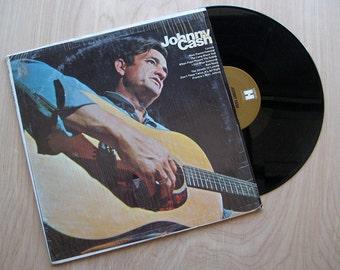 "Johnny Cash ""This Is Johnny Cash"" Vinyl Record LP."