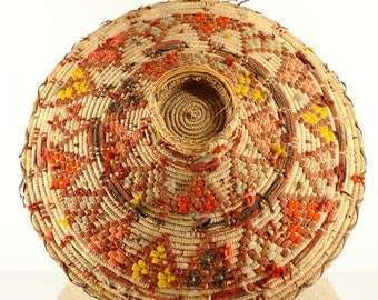 Dish of traditional basketry | Libya