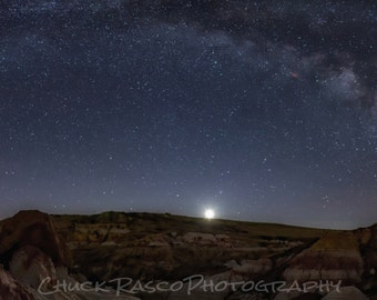 Photo Art - Milky Way Photography - Canvas Print