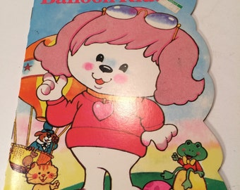 Vintage 1983 Poochie Balloon Ride book