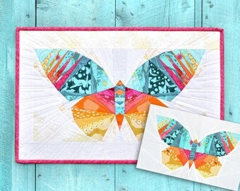 PATTERN BUNDLE - Take Wing Original & Mini Paper Piecing Patterns