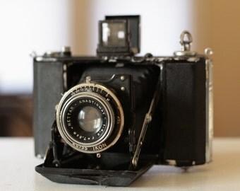 Vintage Zeiss Ikon Nettar Anistigmat 510 Folding Camera
