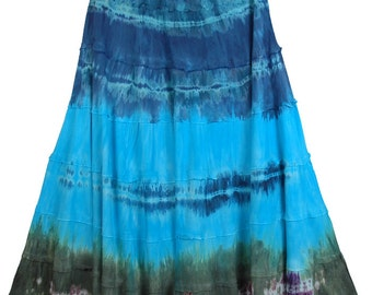 Calypso Tie Dye Layered Skirt