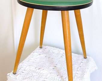 Stool Flower stool table Vierbein Mid Century 50's