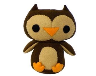 Owl Stuffed Plush Toy Animal