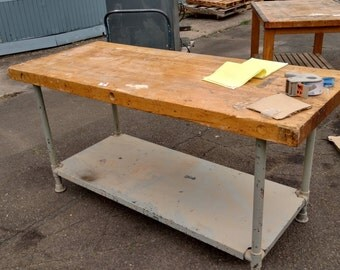Maple Topped Work Table