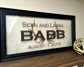 Family Established Sign, Established Sign, Family Sign, Last Name Established Sign, Brother Gift, Uncle Gift, Gifts for Uncle, Husband Gift