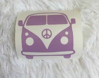 VW Van Decal