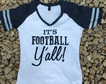 FOOTBALL YALL / GAMEDAY Shirt / Stripe Shirt