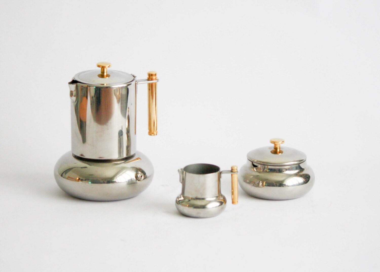 Lavazza Italian Coffee Maker : Principessa Lavazza Vintage Coffee Set: coffee maker sugar
