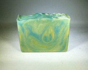 Rainforest Sugarcane Cold Process Soap, Handmade Soap, Vegan Soap