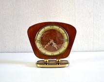 Vintage superior clock / formica table clock