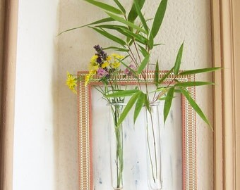 Bud vase Wall vase Hanging vase wall decoration flower frame