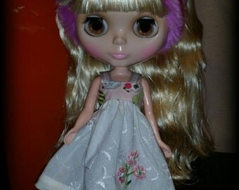 Dress for Blythe, Licca or similar doll
