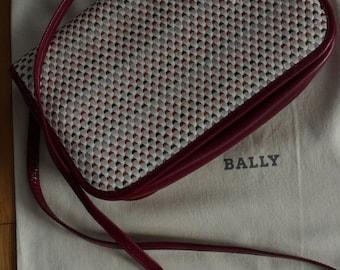 BALLY - vintage leather small bag