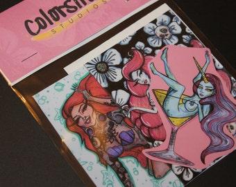 Colorsiren's Cuties Sticker Pack