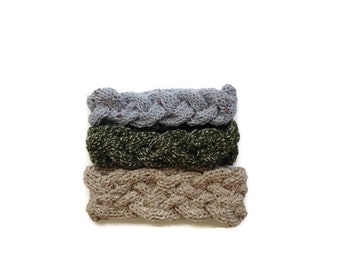 Knit Braided Headbands