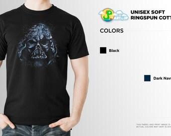 Darth Vader Shirt | PREMIUM QUALITY | Helmet | Star Wars | The Force Awakens | Death Star | Geek Clothing | T-Shirt | Geek Tee | Geek Gift