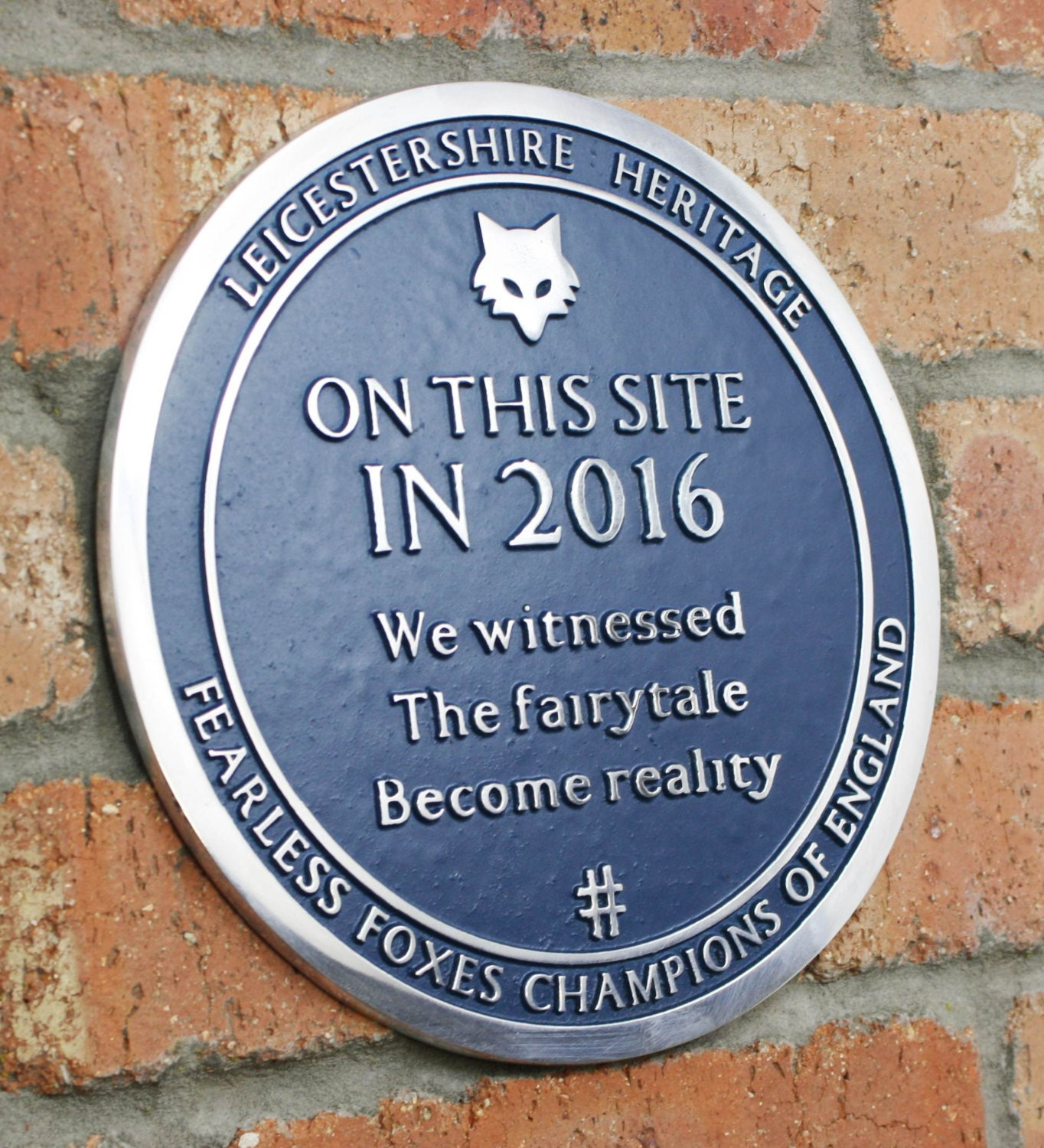 Image result for 2016 witnesses fairytale reality leicester blue plaque