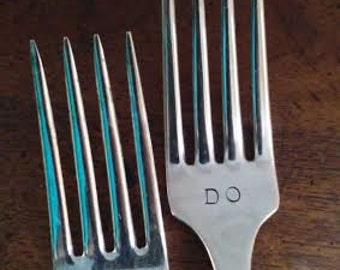 We Do !!! Wedding Forks