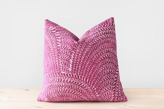Boho Pillow Cover Fuchsia Pillows Magenta Cushion Fuschia