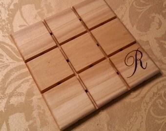 Custom Rustic Wood Trivet