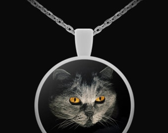 Cat in the Darkness - Necklace
