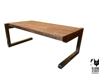 Rustic Contemporary Coffee Table By Hammer & Fox Home Furnishings