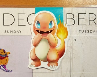Charamander Magnetic Bookmark