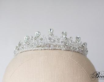 Wedding Crown, Bridal Tiara, Bridal Diadem,Crystal Bridal Tiara, Crystal Crown, Bridal Crown, Wedding Halo,Hair Accessory, Wedding Headpiece