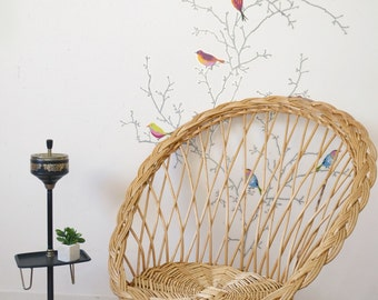 Wicker/rattan vintage, adult, Chair, rattan chair