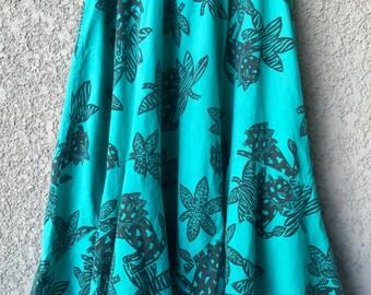 CLEARANCE Green Choon cotton blend cat skirt
