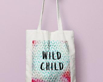 Wild Child Canvas Bag