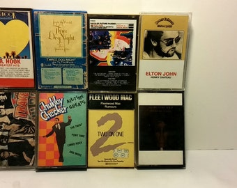 Set of Classic Cassettes from the 1980's - 8 Cassettes