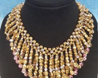 Handmade Dramatic Necklace