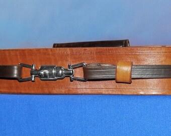 Custom Leather Star Wars Jedi Style Saber Belt
