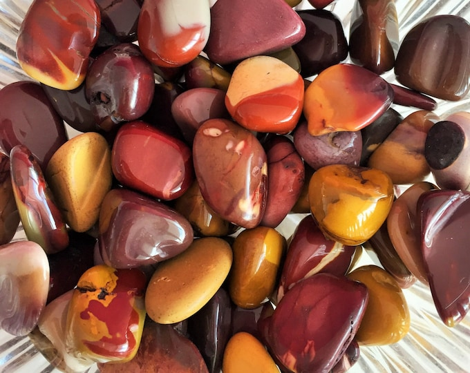 Mookaite Jasper Healing Crystals and Stones w/ Reiki / Crystal Grids