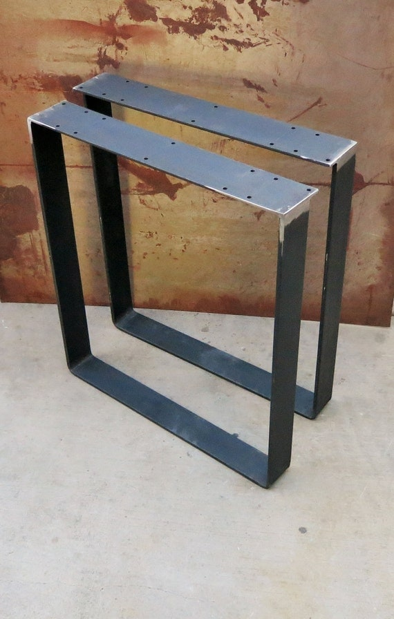 metal table legs 11 sets by steelimpressionrails on etsy