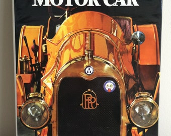 HISTORY of the MOTOR CAR by Marco Matteucci | Hardcover | Coffee Table Book | Dust Jacket | Illustrated | Full Color Italy