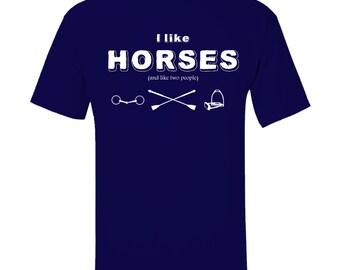 I like Horses (and like two people)