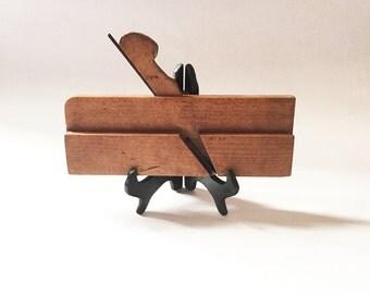 Wood Molding Plane Antique Tools Woodworking Tools Hand Tools Industrial Decor