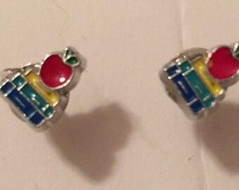Teacher Stud Earrings - O36