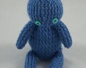 hippo hippopotamus soft toy hand knitted handmade cuddly photo prop gift baby shower stuffed animal Waldorf crochet nursery decor Montessori