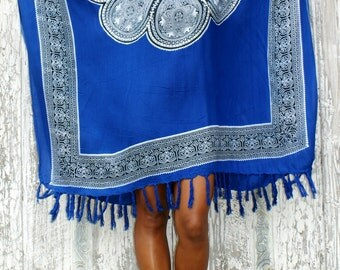 Poncho Summer/Tassels poncho/Beach cover up/Resort wear/Beach wear/Bohemian Poncho * ASTER PONCHO