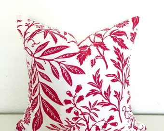 Pink Floral  pillow cover (18x18)
